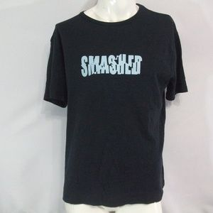Smashed Fcuk Mens Large Black T Shirt